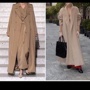MAX MARA maxi trench coat 8 🔥 SALE 🍂